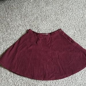 American Apparel Courderory Circle Skirt